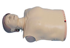 Advanced Half-Body CPR Training Manikin with Light Indicator